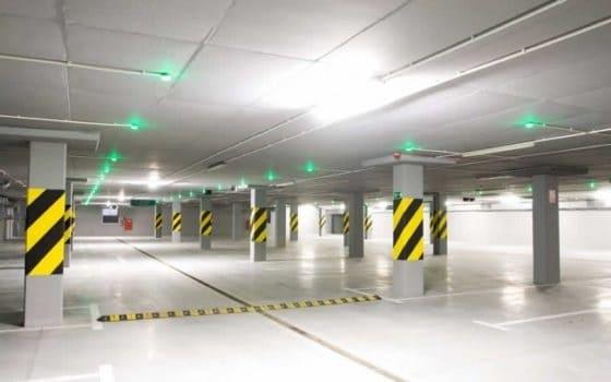 pintar parking garaje