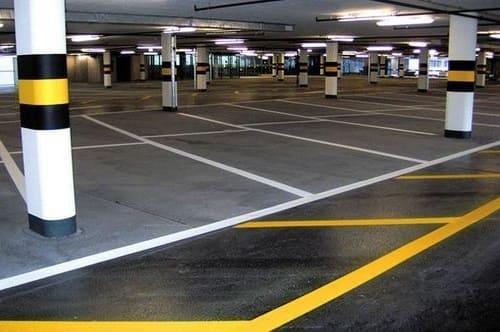 pintores parking garaje